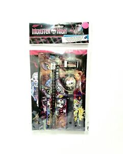 Monster High 7 Pc. Sketch Book Stationary Supply Set 2556MH- New