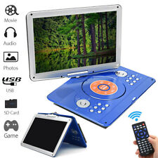 16'' Portable Dvd Player Hd Cd Tv Player 16:9 Lcd Widescreen Card Reader Player