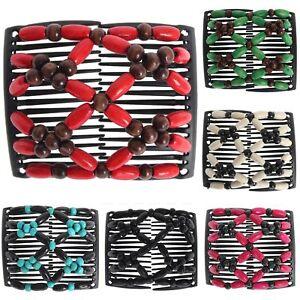 Trend African Hairclip Haarklammer Haarspange Butterfly Haarkamm Holzdesign