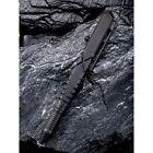 We Knife Tactical Pen Black Bolt Action One Piece Titanium Construction TP02D