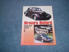 """1937 Buick Coupe Street Rod Article """"Bruce's Buford"""" ---- From 1999 ----"""