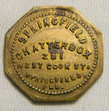 Springfield ILL. Chatterbox  5 cents  Token  (0583) Unlisted