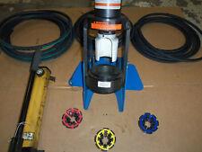 Eaton Weatherhead Et1000 Hydraulic Hose Crimper Machine Hand Pump & Hyd Hose
