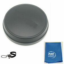 Push UP Front Lens Cap Cover Fr Fuji FujiFilm X100 X100T X100S X70 Camera Black