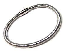 Spring Bangle Bracelet Magnetic Lock Hypoallergenic Surgical Steel