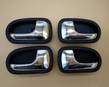 Set 4 Left Right Inside Door Black handle for Mazda PROTEGE 323 95-03