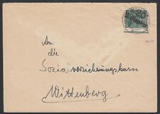 GERMANY, 1948. Soviet District Cover, 20 Wittenberg