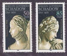 Germany DDR 2750-51 MNH 1989 Sculptures by Johann Gottfried Schadow Set