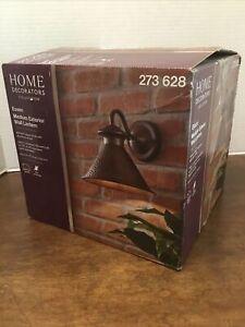 Home Decorators Collection Essen Antique Copper Exterior Wall Lantern New 273628