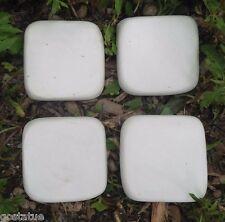 "4  resin tile molds from  just under 2"" x 1/3"" thick"