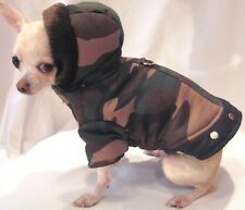 Dog coat/dog clothes/ULTIMATE CAMO Dog Coat/SIZE XS ONLY! FREE SHIP!