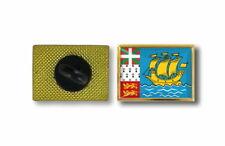 spilla pin pin's spille spilletta giacca bandiera badge saint pierre miquelon