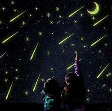 Luminous Wall Sticker Glow In The Dark Star Moon Baby Kids Bedroom Home Decor LD