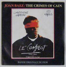 Le Complot  45 tours Christophe Ed Lambert Harris Joan Baez 1988