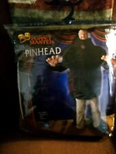 NEW Pinhead Puppet Master Adult Halloween Fancy Dress Costume