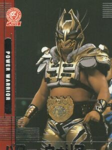 2001 POWER WARRIOR  #27  BANDAI  New Japan Pro-Wrestling Card