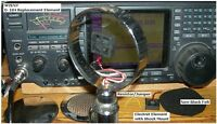 W2ENY HiFi Microphone element modernizes Astatic D104 D-104 Silver Night K Eagle