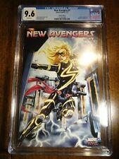 New Avengers #7 Brooks Tron Variant Cover CGC 9.6 NM+ 1st Pr Captain Ms. Marvel