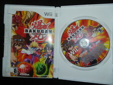 Wii Bakugan Battle Brawler Game With Bonus Ravenoid And Manion In Game