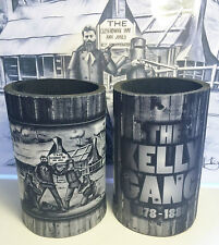 """1 AWESOME NED KELLY """"KELLY GANG"""" STUBBY HOLDER, MAN CAVE, COOLER, OUTLAWS. BEERS"""