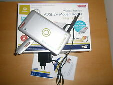 ADSL 2 + MODEM ROUTER WIRELESS SITECOM 54 G + CHIAVETTA WIFI