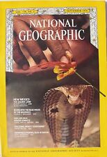 New Mexico, Diving Bahamas, Kibbutz, Cobra, National Geographic Sept 1970, vgcon