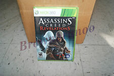 Assassin's Creed Revelations Xbox 360 US NTSC Version NEW