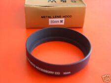 New! Metal Wide Angle 55mm Screw-in Lens Hood