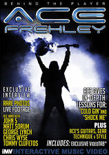 ACE FREHLEY KISS BEHIND THE PLAYER GUITAR DVD NEW