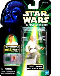 Hasbro Star Wars Luke Skywalker With T 16 Skyhopper Model Action Figure