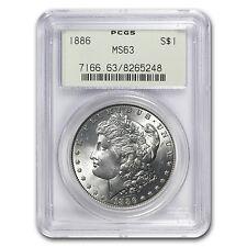 1886 Morgan Dollar MS-63 PCGS - SKU #7545