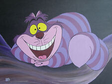 ACRYLIC ON CANVAS PAINTING - Cheshire Cat - Alice in Wonderland
