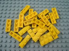 LEGO Lot of 12 Yellow 1x2 Plates with Arm Up Specialty Parts and Pieces