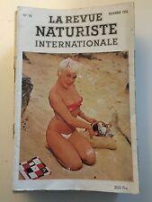 LA REVUE NATURISTE N ° 10 /1956 / PIN UP CHARME EROTISME / NO PLAY BOY NO LUI