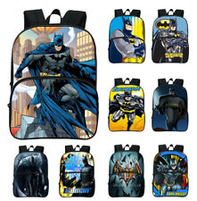 Batman 3D Print School Bag Boys Superhero Travel Backpack Students Book Bag