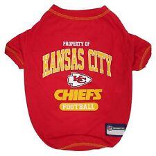 NFL Kansas City Chiefs Premium Dog Pet Tee Shirt (all sizes)