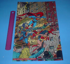DC COMICS FAMOUS COVERS ADVENTURES OF SUPERMAN POSTER  SHAZAM,WONDER WOMAN
