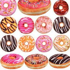 40cm Donut Kissen/Kissenhülle Schoko glasur Dekokissen Lounge Kissen Sitzkissen