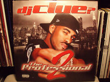 DJ CLUE - THE PROFESSIONAL 2 (VINYL 2LP)  2001!!  RARE!!!  JAY-Z, LOX, EMINEM!!!