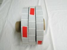 "(3) Rolls 15,000? Wafer Seals Tabs 1"" table top Tabber Mailer Mailing Machine"