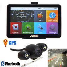 """Nuevo Inalámbrico 7"""" Navegador GPS para Auto de 8 GB con Bluetooth AV-IN + Cámara Reversa"""
