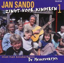 Jan Sando zingt voor kinderen 1 (met kinderkoor De Meikevertjes) (CD)