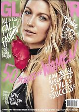 Glamour magazine Blake Lively Fall fashion Style and success Skincare tips