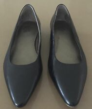 """Excellent Condition WITTNER Black Leather """"P-Antgonie"""" Shoes Size 36.5"""