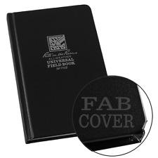 Rite in the Rain Universal Field Bound Note Book, 4.5 x 7.5 Inch, Black