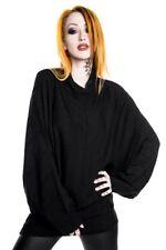 ed10a1115117d KILLSTAR Goth Mini Dress Stockholm Syndrome Slacker Knit Tunic Black Extra  Large