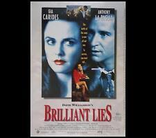 Brilliant Lies 1996 Anthony LaPaglia Original Australian One-Sheet Poster 195