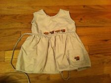 girl's size 18-24 months Hooligans brand dress Beige South Africa Hippo Rhino