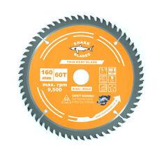 Shark Blades TCT Circular saw blade 160mm x 60T Thin Kerf For Wood and PVC Cuts