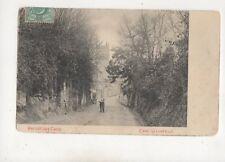 Hermitage Lane East Grinstead Sussex Vintage Postcard 593b